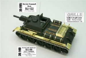 AB35095 Russian SU-122 assault gun (designed to be used with Tamiya kits)